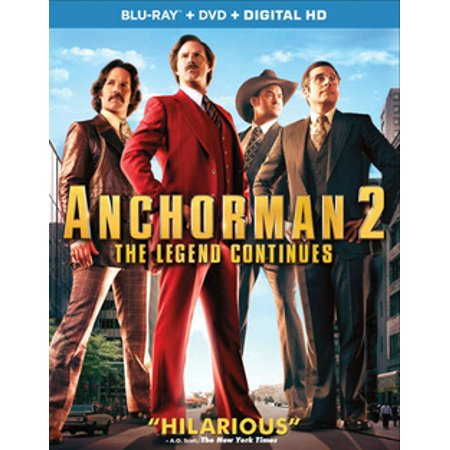 Anchorman 2: The Legend Continues (Blu-ray) (Anchorman Scotch)
