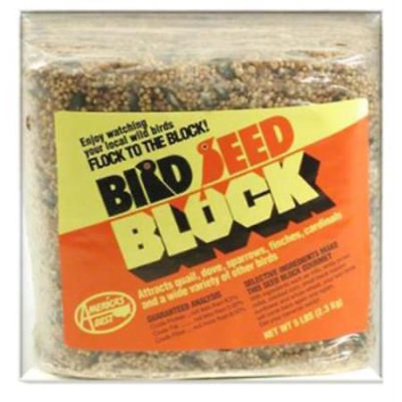 Arizona's Best 5 LB Wild Bird Seed Block Only One
