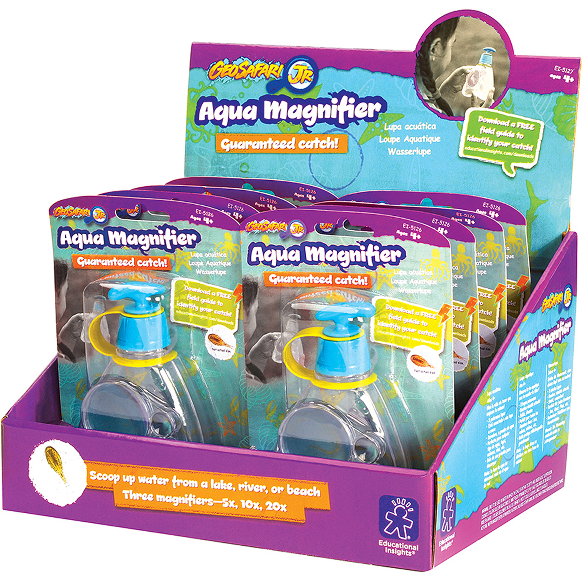 Educational Insights Aqua Magnifier, Party Pack