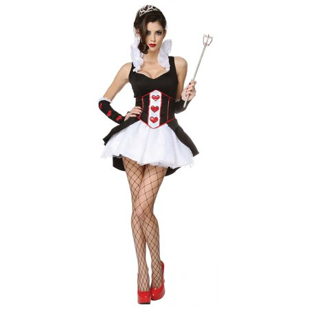 Queen of Hearts Adult Costume - Large - Lips Costume