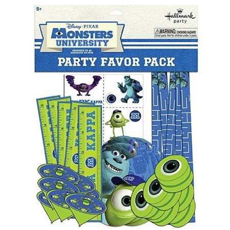 Party Favors - Monster University - Value Pack - 48pc Set - Monster High Party Set