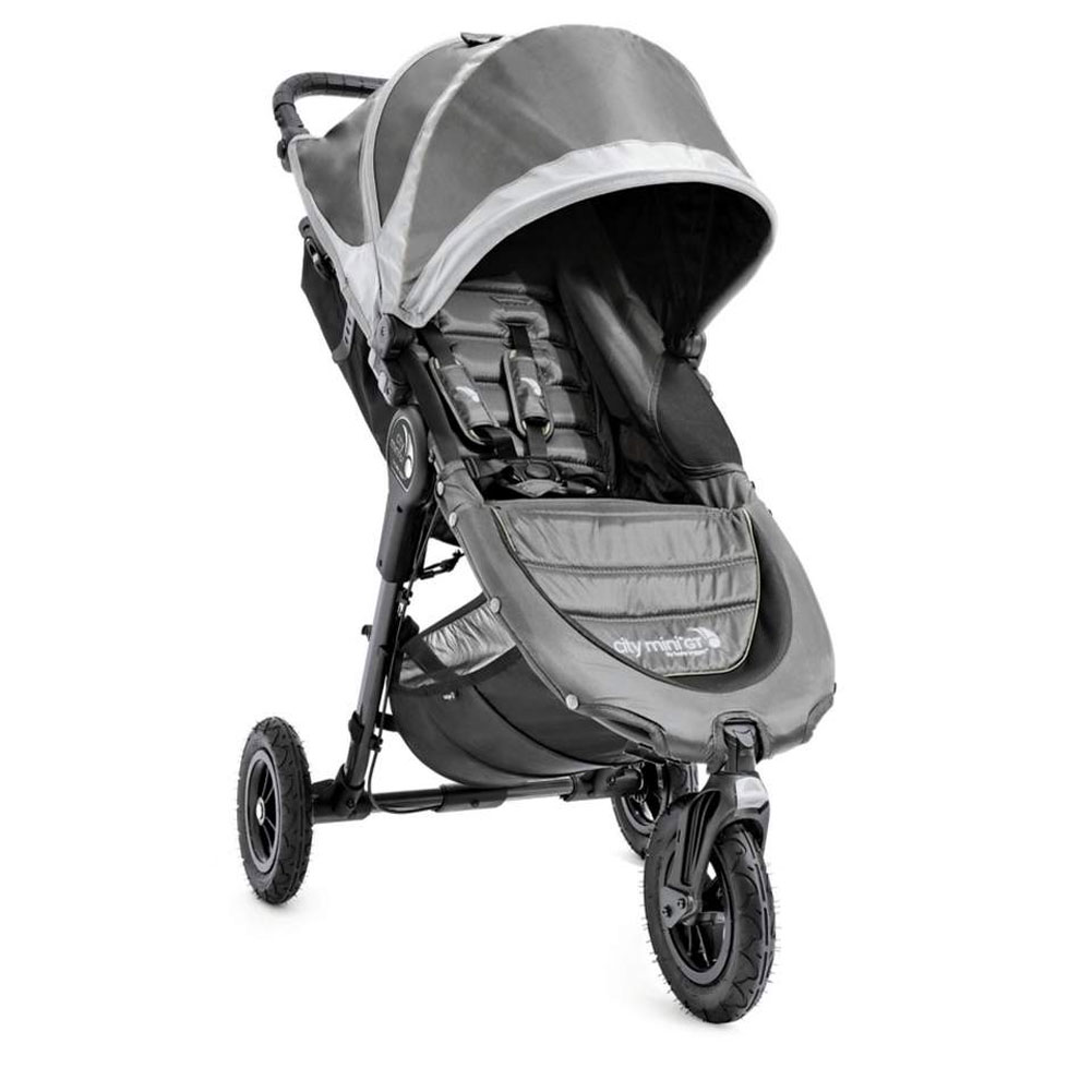 Baby Jogger City Mini Gt Single Stroller Steel Grey