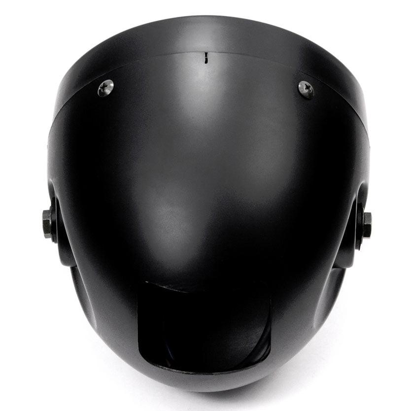 "Krator 7"" Black LED Motorcycle Headlight w/ Side Mounting Running Light High / Low Beam for Yamaha Road Star Silverado XV Midnight - image 2 of 6"