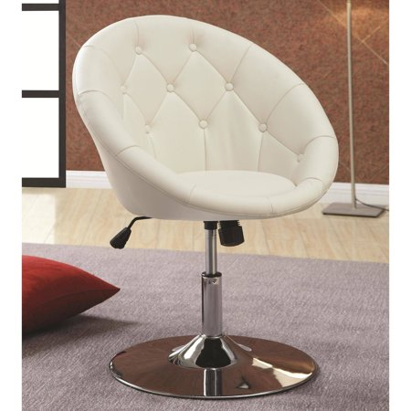 Awesome Details About White Vanity Stool Swivel Chair Bedroom Makeup Dress Furniture Stool Seat Tufted Andrewgaddart Wooden Chair Designs For Living Room Andrewgaddartcom
