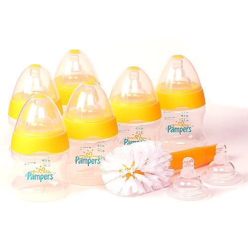 Pampers - Newborn Starter Bottle Gift Set - Walmart.com