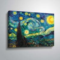 ArtWall Vincent van Gogh Starry Night Wall Art