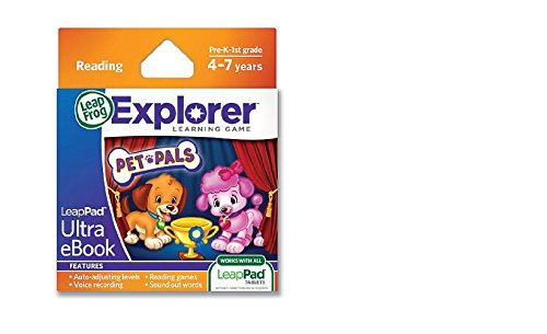 LeapFrog LeapPad Ultra Ebook: Adventure Builder, Pet by LeapFrog