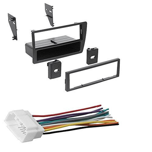 HONDA CIVIC CAR CD STEREO RECEIVER DASH INSTALL MOUNTING KIT WIRE HARNESS