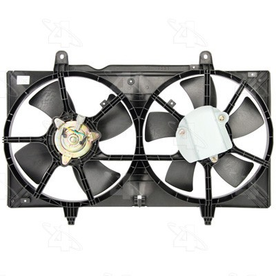 Four Seasons Dual Radiator and Condenser Fan Assembly P/N:75362