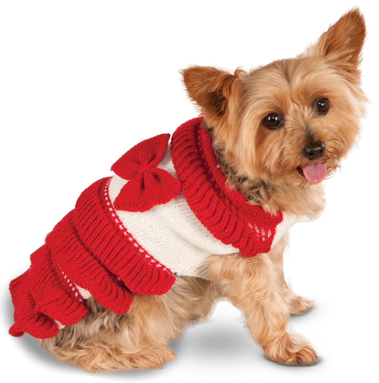 Pet Holiday Dress Costume