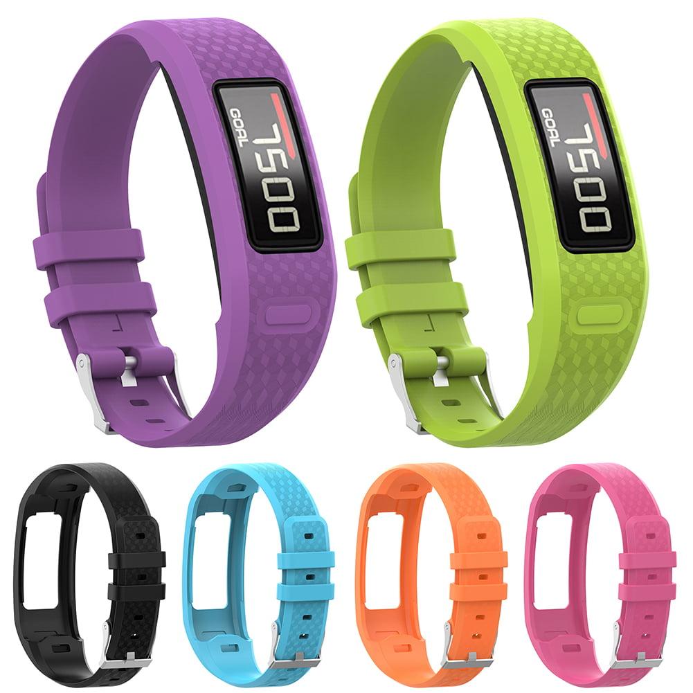 Micelec Replacement TPU Smart Bracelet Wristband Waterproof Strap for Garmin Vivofit 1 2