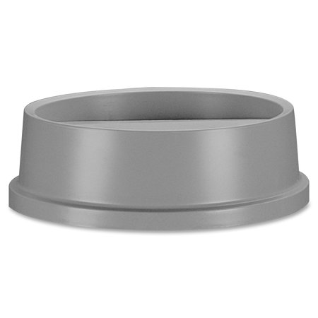 Rubbermaid Commercial, RCP267200GY, Untouchable Round Swing Top Lid, 1 Each, (Untouchable Swing)