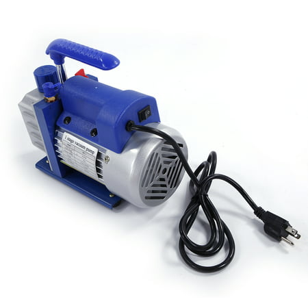 Zimtown 3Cfm 1/4Hp Rotary Vane Vacuum Pump, for Single Stage A/C Deep HVAC Air Conditioning, Perfect for Vacuum Sealing Jars, Preserving Food, Degasification, Hot-forming Plastic - image 2 of 7