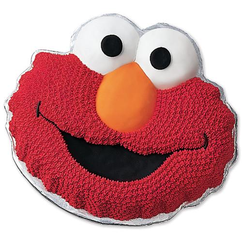 "Wilton Novelty 13.5""x10.5"" Shaped Cake Pan, Elmo 2105-3461"