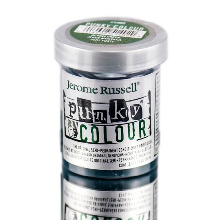 Jerome Russell Punky Hair Colour Alpine Green, 3.5 Oz