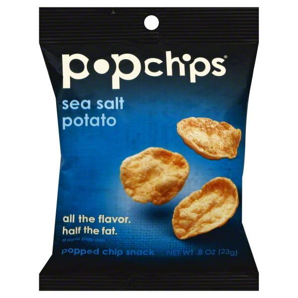 Popchips Popchips  Popped Chip Snack, 0.8 oz