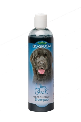 Bio-Groom Ultra Black 21612 Flea and Tick Color Enhancer Dog Shampoo, 12 oz, Floral Scent by Bio-Groom