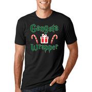 Gangsta Wrapper | Mens Christmas T-Shirt