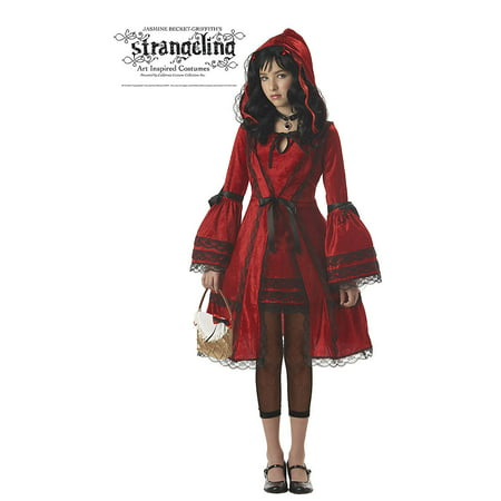 Tween Red Riding Hood Costume California Costumes 4022, 10 to 12 (Cool Homemade Costumes For Tweens)