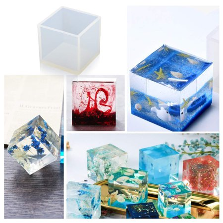 18x/Pack Silicone Resin Molds Pendant Jewelry Molds Crystal Craft Kits For DIY Jewelry Craft Making Set - image 12 de 12