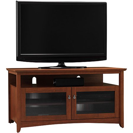 Bush Buena Vista Serene Cherry TV Stand, for TVs up to 46″