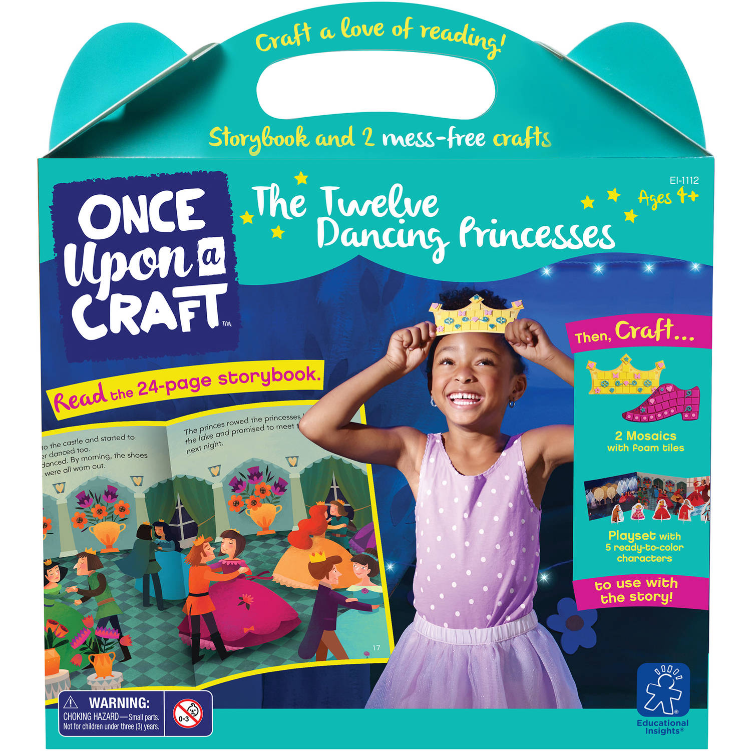 Educational Insights Once Upon a Craft, The 12 Dancing Princesses