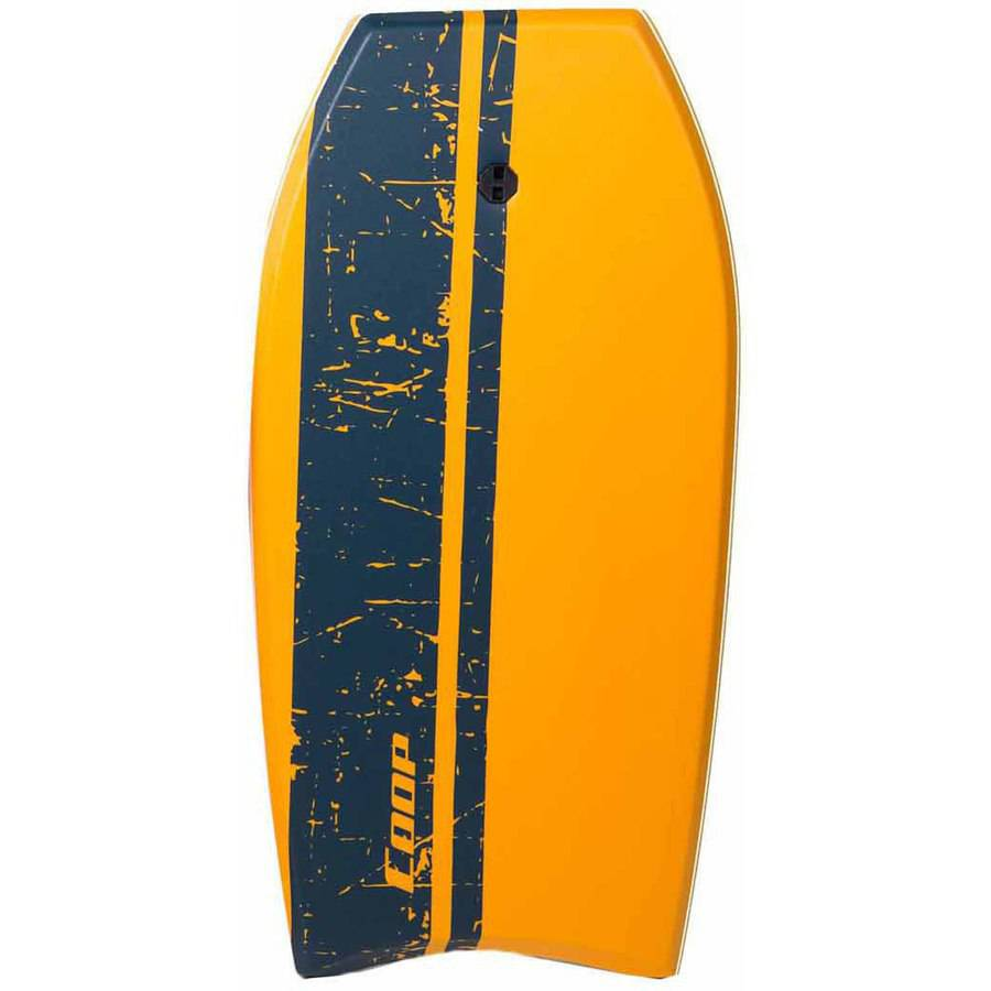Super Pipe 41 Body Board, Orange Stripe