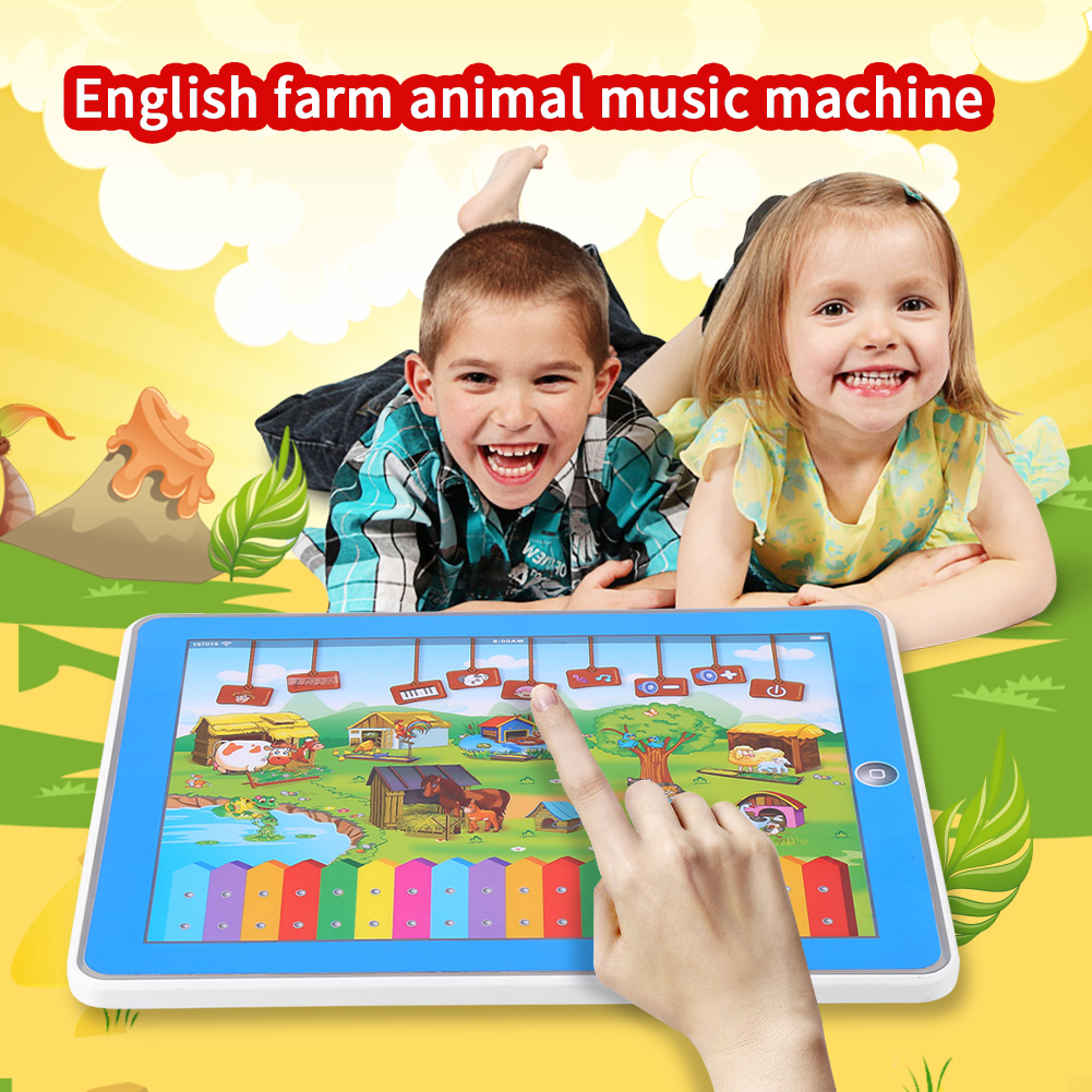 Children Tablet Toy Touch Screen Learning Early Educational Toy for Baby Kids , Learning Tablet Toy, Children Tablet Toy