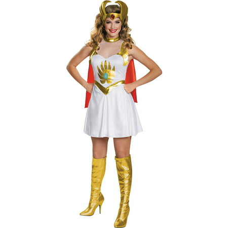 She-Ra Classic Women's Plus Size Adult Halloween Costume, One Size, 18-20