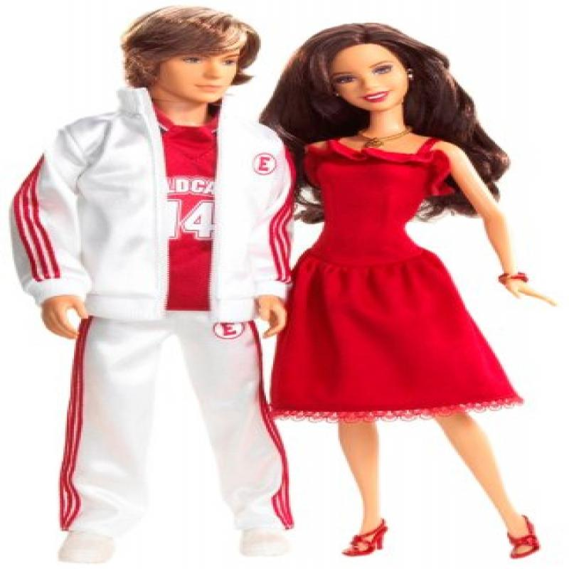 Mattel High School Musical Gabriella & Troy 2-Pack