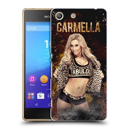 OFFICIAL WWE CARMELLA HARD BACK CASE FOR SONY PHONES 2