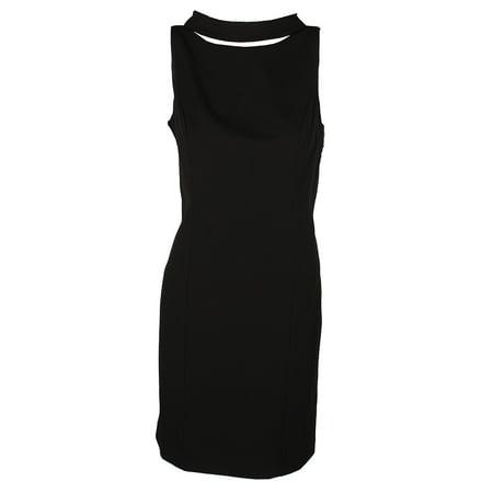 American Living Black Cunningham Sheath Dress 10