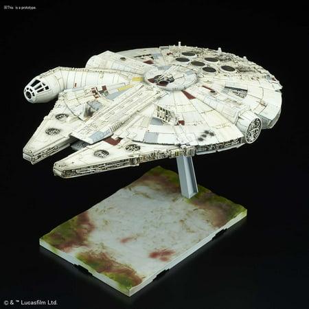 - Star Wars The Last Jedi Millennium Falcon Model Kit