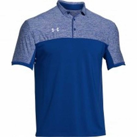 Under armour men 39 s team podium golf polo shirt top for Under armour shirts at walmart