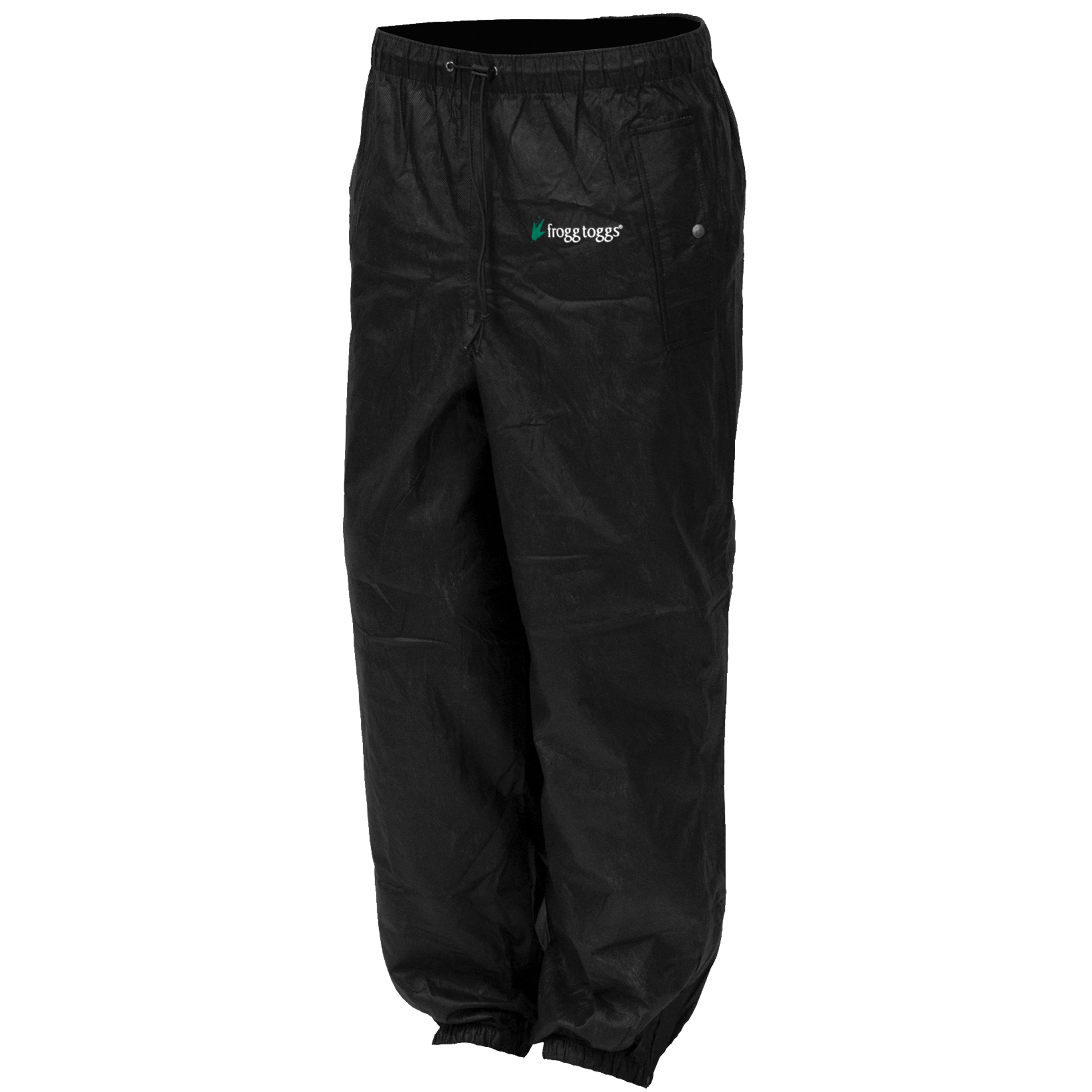 Pro Action Pant | Black | Size Lg by Frogg Toggs