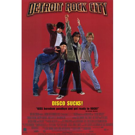 Detroit Rock City (1999) 11x17 Movie Poster (Bleu Detroit Halloween)