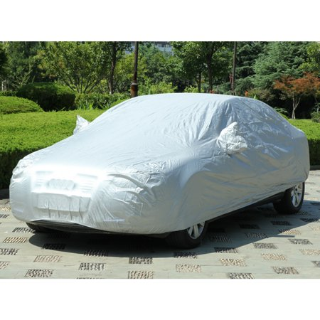 AUDEW Waterproof Car Cover Auto Cover Protector Breathable Outdoor Indoor Sun Snow Dust Rain Resistant Protection Fit Universal Car 4.75x1.93x1.43m