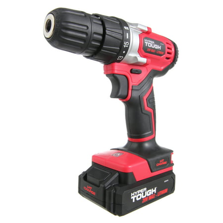 Hyper Tough HT Charge 20-Volt Max Lithium Ion Cordless Drill-Driver, (Best Cordless Drill For Home Use)