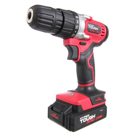 Hyper Tough HT Charge 20-Volt Max Lithium Ion Cordless Drill-Driver,