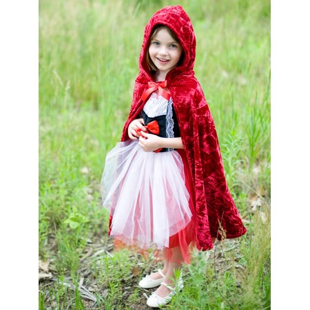 Costumes For Little Kids (Little Red Riding Hood Deluxe Cape Costume for)