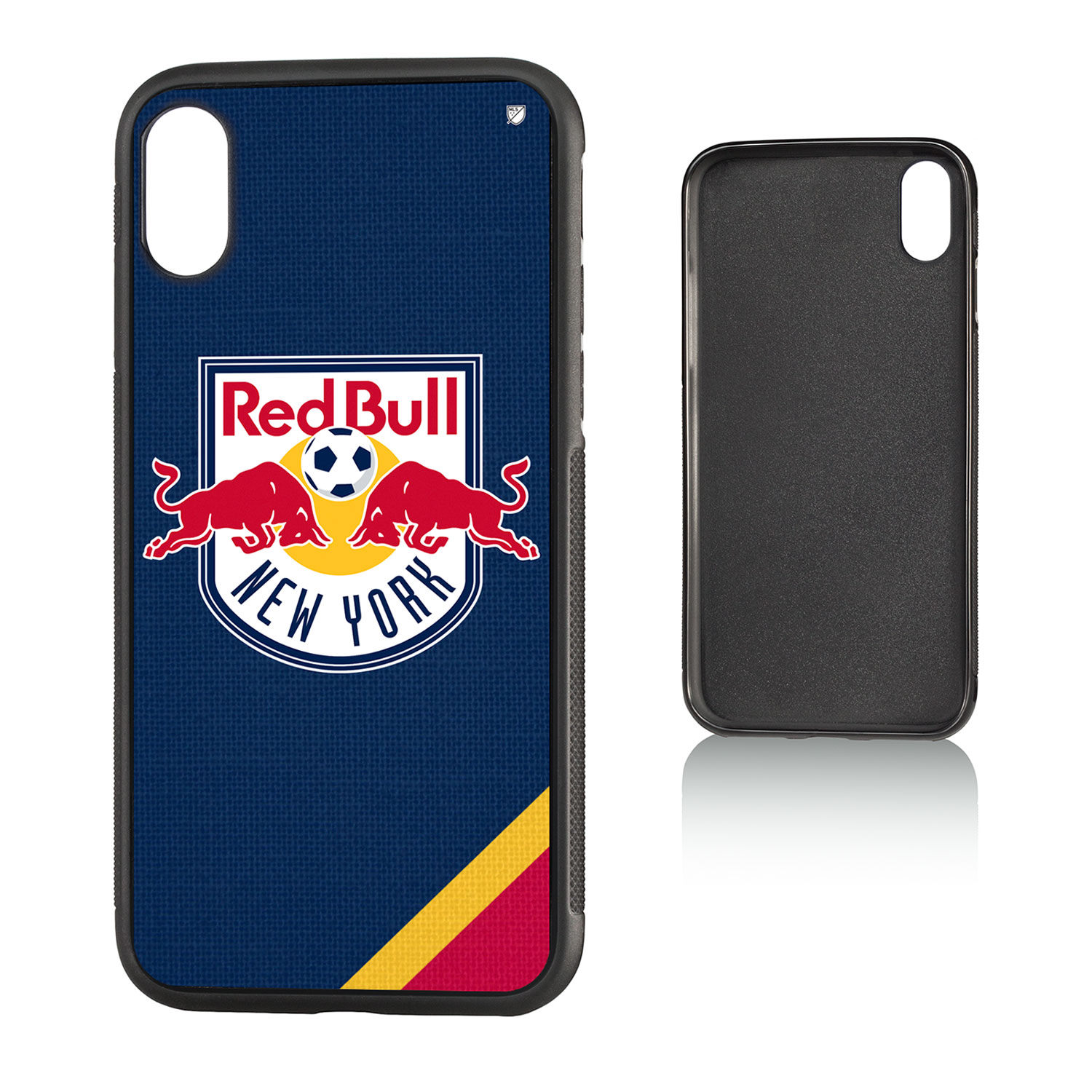 New York Red Bulls RED BULLS Solid Bump Case for iPhone X