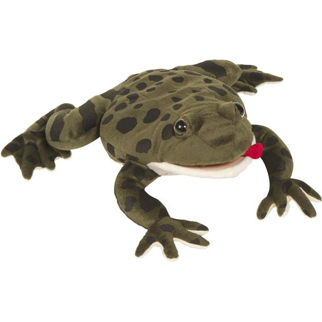 12 In. Frog - Cape Ghost, Animal Puppet