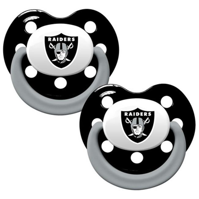 Oakland Raiders Pacifier 2 Pack