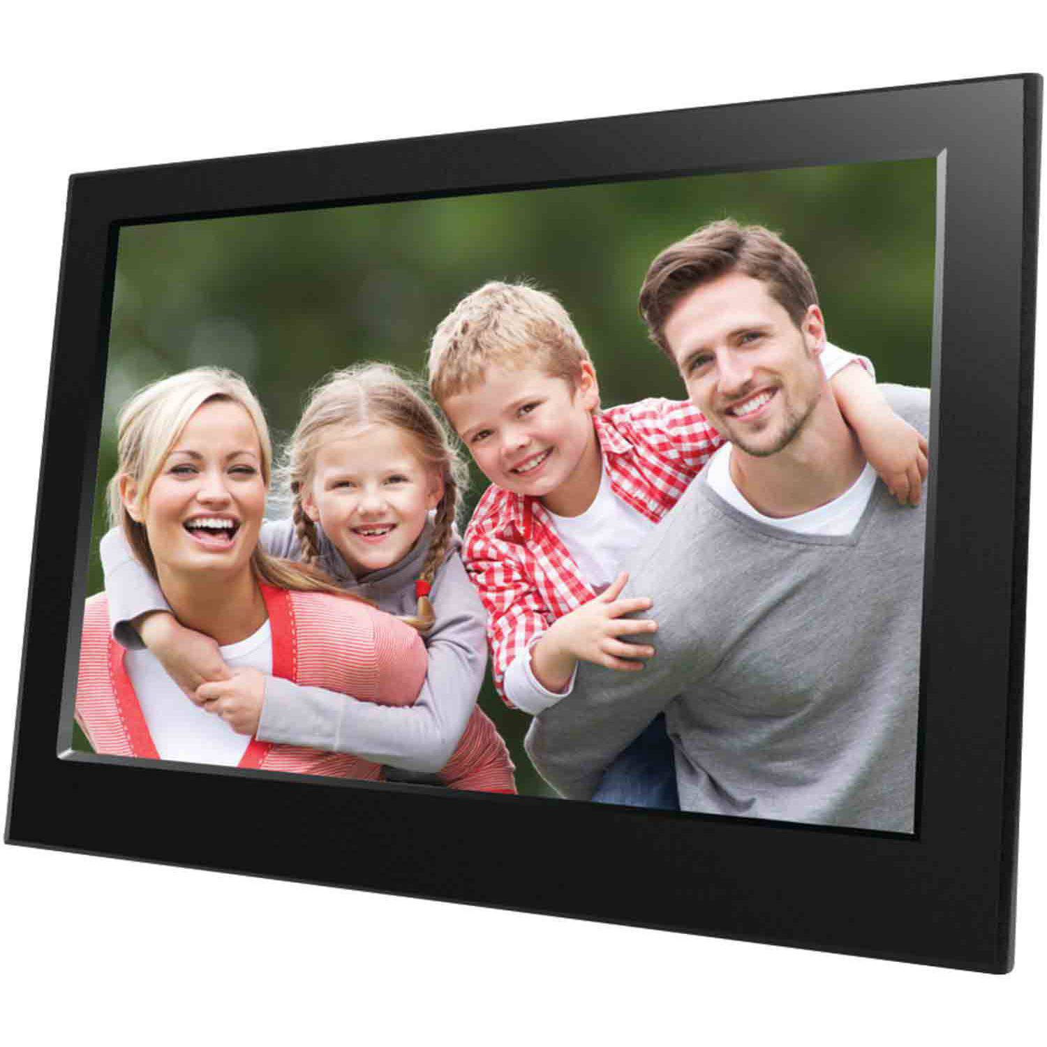 aluratek adpf08sf 8digital photo frame 800x600 hi resolution with auto slideshow walmartcom