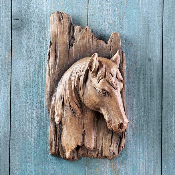 Faux Wood Wall Art