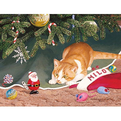 Milo Boxed Christmas Card