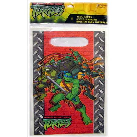 Teenage Mutant Ninja Turtles Favor Bags (8ct) - Ninja Turtles Party Bags