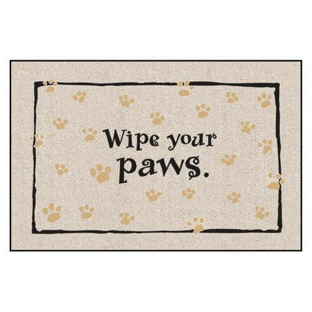 Wipe Your Paws Indoor/Outdoor Door Mat