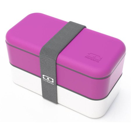 bento box in fuchsia and white. Black Bedroom Furniture Sets. Home Design Ideas