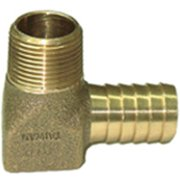 Simmons 872 Hydrant Elbow, Brass